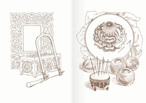 Альбом для раскрашивания. |Часть 8. Инструменты