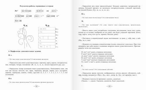 Обучение русскому языку. Программы и методики работы в начальной школе. 4 класс