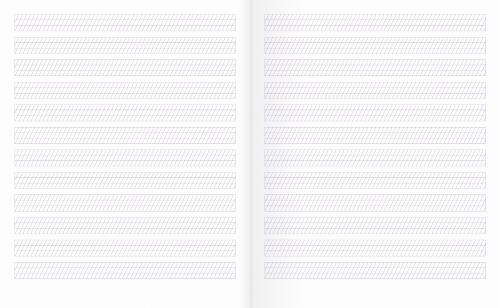 Тетрадь №2 для письма |(с упрощенной графической сеткой)