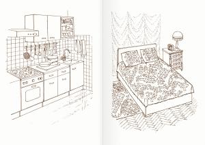 Альбом для раскрашивания. |Часть 3. Мебель
